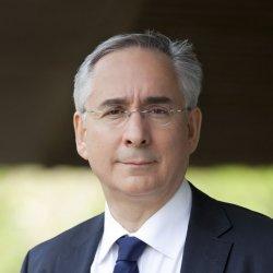 Le professeur Karim Benyekhlef, co-responsable de l'axe droit, cyberjustice et cybersécurité